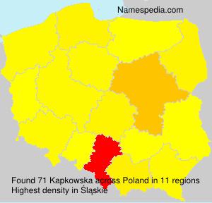 Kapkowska - Poland