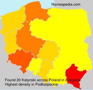 Familiennamen Katynski - Poland