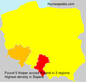 Surname Keiper in Poland