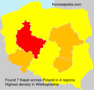 Surname Kepel in Poland