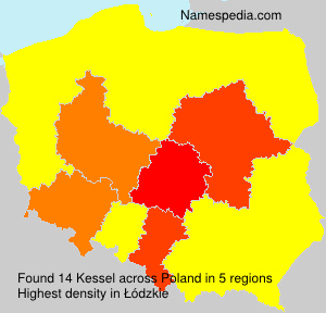 Surname Kessel in Poland