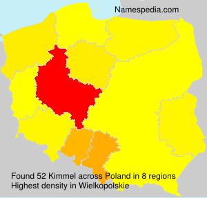 Surname Kimmel in Poland