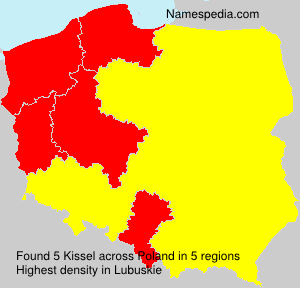 Surname Kissel in Poland