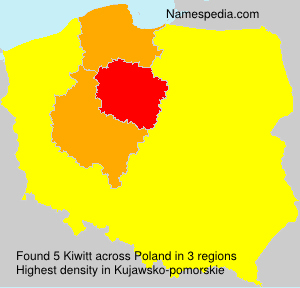 Surname Kiwitt in Poland
