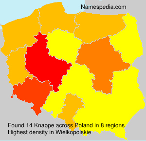 Surname Knappe in Poland