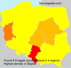 Surname Knappik in Poland