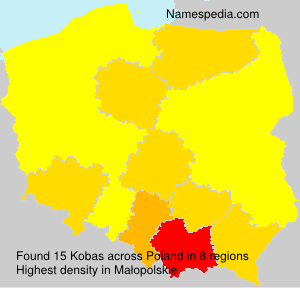 Surname Kobas in Poland