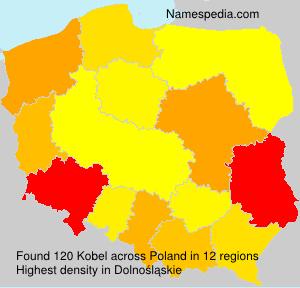 Familiennamen Kobel - Poland