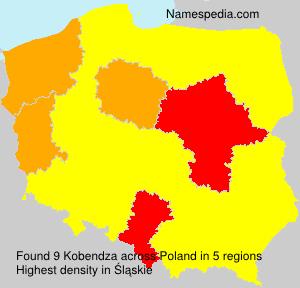Familiennamen Kobendza - Poland
