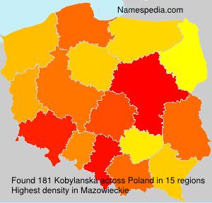 Familiennamen Kobylanska - Poland