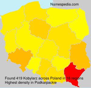 Surname Kobylarz in Poland
