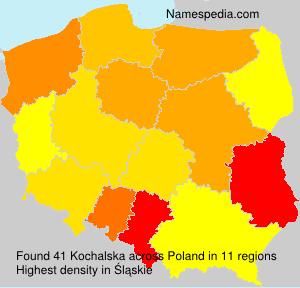 Familiennamen Kochalska - Poland