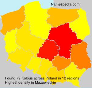 Surname Kolbus in Poland