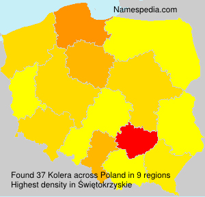 Kolera - Poland