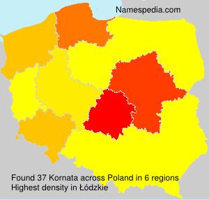 Surname Kornata in Poland