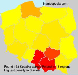 Surname Kosalka in Poland