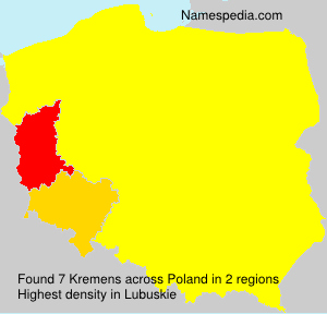 Surname Kremens in Poland