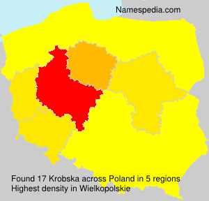 Surname Krobska in Poland