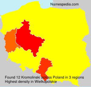 Surname Kromolinski in Poland