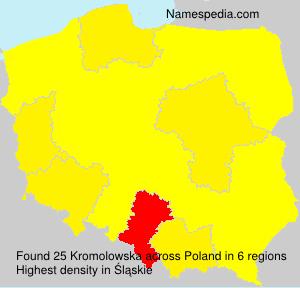Surname Kromolowska in Poland