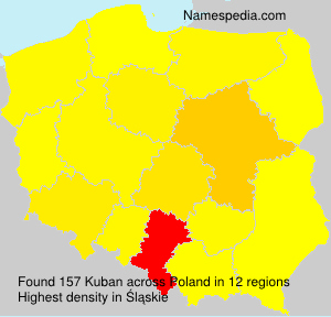 Surname Kuban in Poland