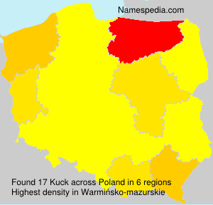 Surname Kuck in Poland