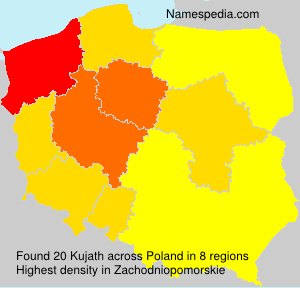 Surname Kujath in Poland