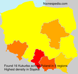 Surname Kukurba in Poland