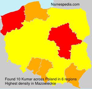 Surname Kumar in Poland