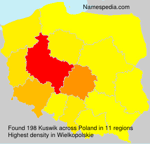 Surname Kuswik in Poland