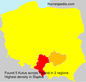 Surname Kutus in Poland