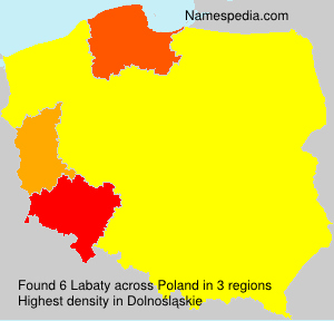Surname Labaty in Poland