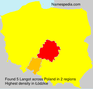 Surname Langot in Poland
