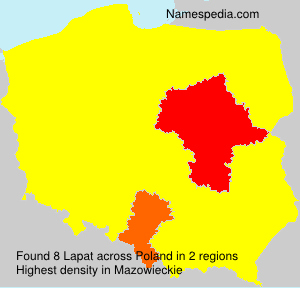 Surname Lapat in Poland