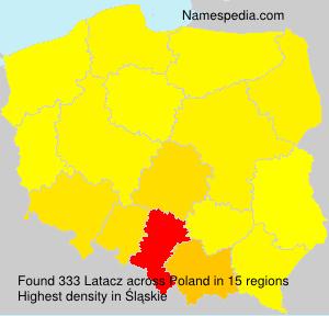 Familiennamen Latacz - Poland