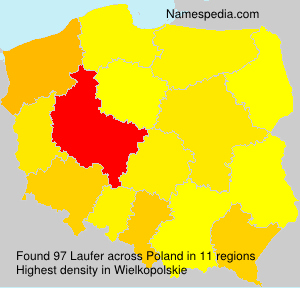 Surname Laufer in Poland