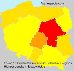 Lawendowska