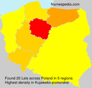 Surname Leis in Poland