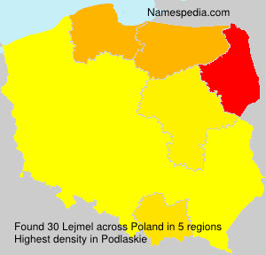 Surname Lejmel in Poland