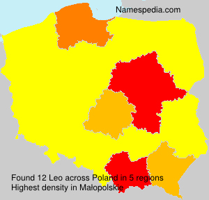 Surname Leo in Poland