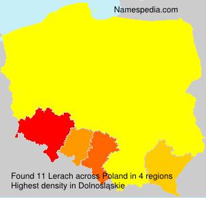 Familiennamen Lerach - Poland