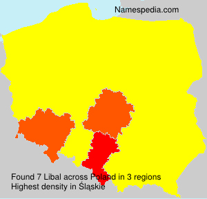 Surname Libal in Poland