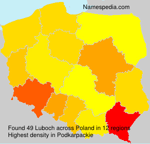 Surname Luboch in Poland
