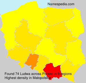 Surname Ludwa in Poland