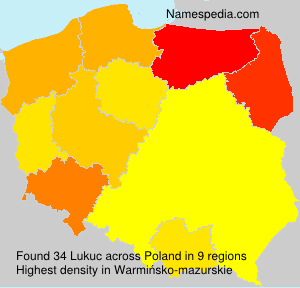 Surname Lukuc in Poland