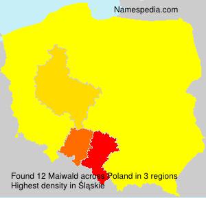 Familiennamen Maiwald - Poland