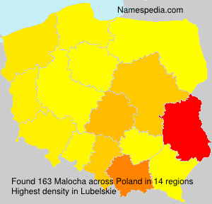 Surname Malocha in Poland
