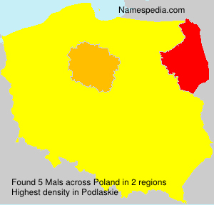 Surname Mals in Poland