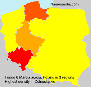 Surname Marcia in Poland