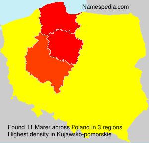 Surname Marer in Poland